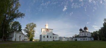 Antoniev修道院是其中一个仔牛皱胃最美丽如画的地方  免版税库存照片