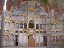 Antonievo-Verkalsky monaster Przywrócenie świątynia Unikalni frescoes Obraz Stock