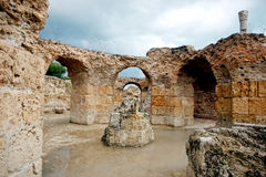 Antonine Baths Carthage Royalty Free Stock Image