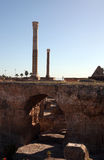 The Antonine Baths in Carthage, Tunisia. Stock Image