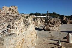 The Antonine Baths in Carthage, Tunisia. Royalty Free Stock Image