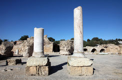 The Antonine Baths in Carthage, Tunisia. Stock Photo