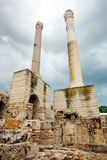 Antonine Baths chimneys Stock Photos