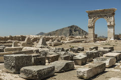 Antonine Nymphaeum chez Sagalassos, Turquie Photo stock