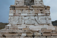 Antonine Nymphaeum dans la ville antique de Sagalassos dans Burdur Image libre de droits
