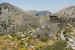 Antonine Nymphaeum em Sagalassos, Turquia Imagens de Stock
