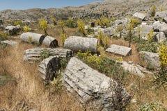 Antonine Nymphaeum em Sagalassos, Turquia Imagem de Stock Royalty Free
