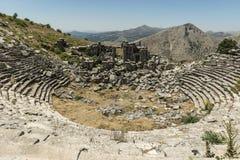 Antonine Nymphaeum em Sagalassos, Turquia Fotografia de Stock Royalty Free