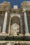 Antonine Nymphaeum en Sagalassos, Turquía Imagen de archivo