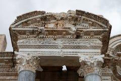 Antonine Nymphaeum na cidade antiga de Sagalassos em Burdur Imagens de Stock Royalty Free