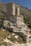 Antonine Nymphaeum przy Sagalassos, Turcja Obraz Royalty Free