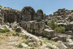 Antonine Nymphaeum przy Sagalassos, Turcja Fotografia Royalty Free