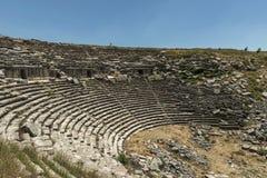 Antonine Nymphaeum przy Sagalassos, Turcja Fotografia Stock
