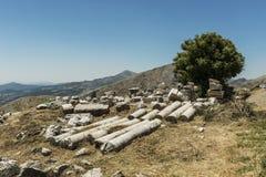 Antonine Nymphaeum przy Sagalassos, Turcja Zdjęcia Royalty Free