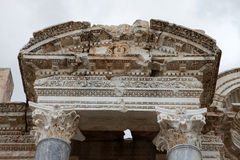 Antonine Nymphaeum in Sagalassos Ancient City in Burdur. Royalty Free Stock Images