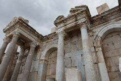Antonine Nymphaeum in Sagalassos Ancient City in Burdur. Stock Images