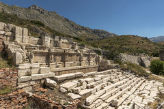 Antonine Nymphaeum at Sagalassos, Turkey Royalty Free Stock Photography