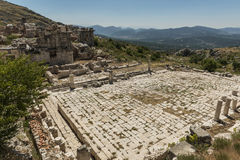 Antonine Nymphaeum at Sagalassos, Turkey Royalty Free Stock Image