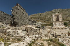 Antonine Nymphaeum at Sagalassos, Turkey Stock Images