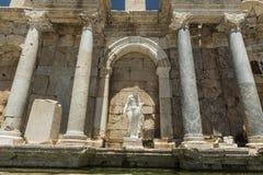 Antonine Nymphaeum at Sagalassos, Turkey Stock Photography
