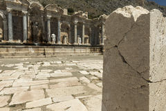 Antonine Nymphaeum at Sagalassos, Turkey Royalty Free Stock Photos