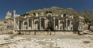 Antonine Nymphaeum at Sagalassos, Turkey Royalty Free Stock Photos