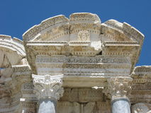 Antonine Nymphaeum w antycznym mieście Sagalassos Obraz Stock