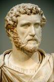 antoninus皇帝题头pius罗马雕象 免版税库存图片
