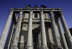 antoninus faustina forum romanum świątynia Obraz Stock