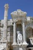 Antoninus Fountain de Sagalassos em Isparta, Turquia Fotografia de Stock Royalty Free