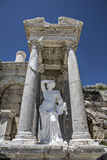 Antoninus Fountain de Sagalassos em Isparta, Turquia Imagem de Stock