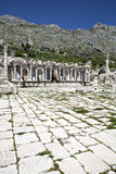 Antoninus Fountain of Sagalassos in Isparta, Turkey Stock Photography
