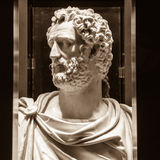 Antoninus Pius (86-161, règne 138-161) Photo libre de droits