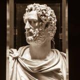 Antoninus Pius (86-161, règne 138-161) Photo libre de droits