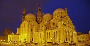 antonio大教堂da sant的padova 免版税图库摄影