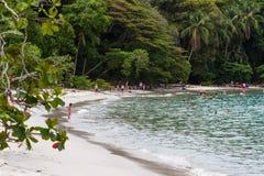 antonio海滩肋前缘manuel rica 库存图片