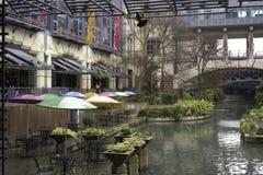 antonio河圣结构 免版税库存照片