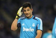 Antonio Adan της Real Madrid Στοκ Εικόνα
