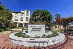 Antonio Aguilar statua Zdjęcia Royalty Free