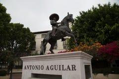 Antonio Aguilar Statue arkivbilder