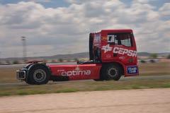 Antonio Albacete. FIA European Truck Racing Championship Royalty Free Stock Photography