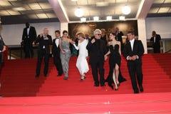 Antonio Banderas, Μαρίζα Paredes, 'ελενα Anaya, Ped Στοκ φωτογραφία με δικαίωμα ελεύθερης χρήσης