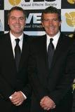 Antonio Banderas, Chris Miller lizenzfreies stockfoto