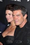 Antonio Banderas, Gina Carano Stock Images