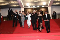 Antonio Banderas, Marisa Paredes, Elena Anaya, PED Fotografia Stock Libera da Diritti
