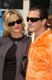 Antonio Banderas, Melanie Griffith Stock Images