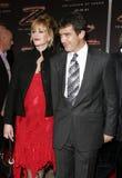 Antonio Banderas and Melanie Griffith Stock Photography
