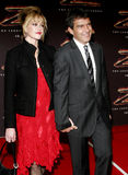 Antonio Banderas and Melanie Griffith Royalty Free Stock Photography