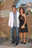 Antonio Banderas, Salma Hayek Royalty Free Stock Photography