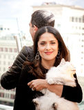 Antonio Banderas and Salma Hayek Royalty Free Stock Photo